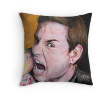 Chuck Hughes Throw Pillow