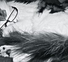 Oh, I hate it when i fall asleep with my glasses on! by Shelley Eden