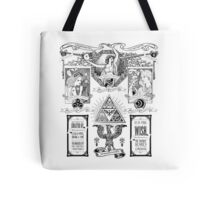 The Three Goddesses of Hyrule Geek Line Artly Tote Bag