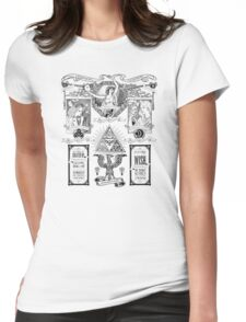 The Three Goddesses of Hyrule Geek Line Artly Womens Fitted T-Shirt