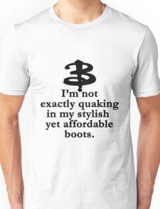 Buffy The Vampire Slayer Quote v1.0 Unisex T-Shirt