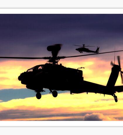 AugustaWestland Apache AH.1 Helicopters Sticker
