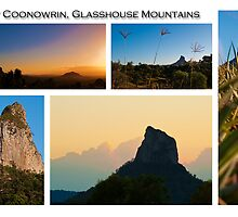 Mt Coonowrin, Glasshouse Mountains by Jaxybelle