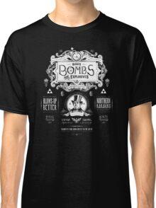 Legend of Zelda Barnes Bombs Vintage Ad Classic T-Shirt