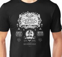 Legend of Zelda Barnes Bombs Vintage Ad Unisex T-Shirt