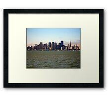 Just San Francisco Framed Print