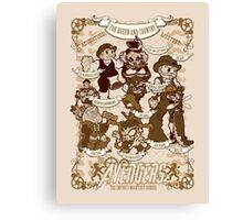 Earth's Mightiest Steampunk Canvas Print