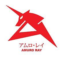 Gundam Amuro Ray Logo Emblem by kyzson69