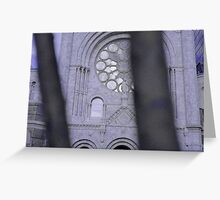 Holy Blues Greeting Card