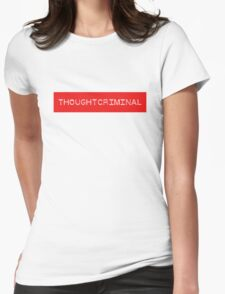 THOUGHTCRIMINAL ?  B Womens Fitted T-Shirt