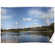 Lake and sky  Poster
