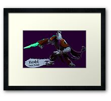 Dark Prelate Framed Print