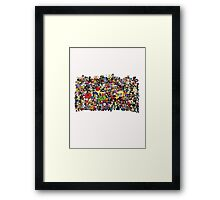 All of Earth's Mightiest Framed Print