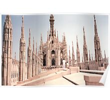 Milan Cathedral's Beauty  Poster