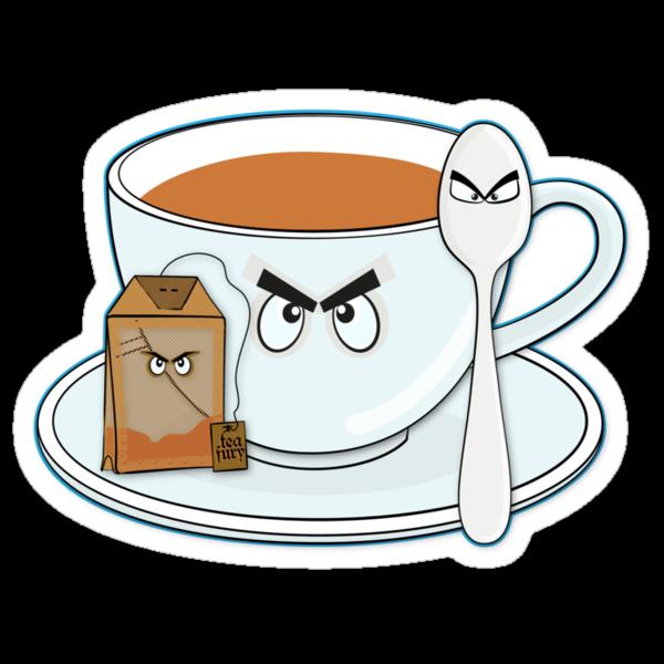 Tea fury by puppaluppa