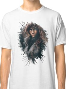 Lightning from Final Fantasy 13 Painting Classic T-Shirt