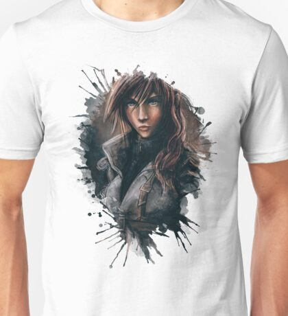 Lightning from Final Fantasy 13 Painting Unisex T-Shirt