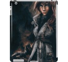 Lightning from Final Fantasy 13 Painting iPad Case/Skin