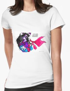 Roxy (Kid Soldier-2011) Poster Womens Fitted T-Shirt