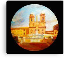 Roma, Trinità dei Monti Canvas Print