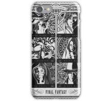 Final Fantasy Jobs Geek Art Poster iPhone Case/Skin