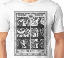 Final Fantasy Jobs Geek Art Poster Unisex T-Shirt