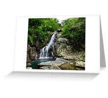 Hiji Falls Full Greeting Card