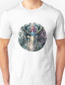 Ashitaka Demon Mononoke Digital Painting T-Shirt
