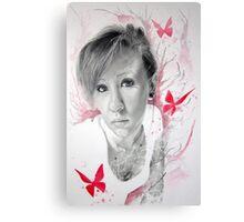 Exposing Butterflies Canvas Print