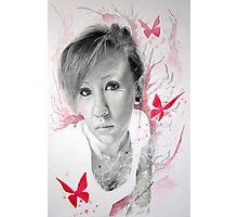 Exposing Butterflies Photographic Print