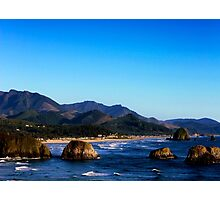 Ecola looking toward Canon Beach Photographic Print