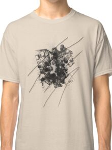 Cool Rusty Grunge Vintage Scratches  Classic T-Shirt