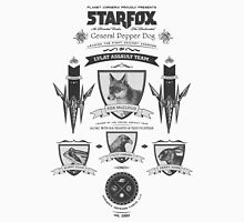 Star Fox Nintendo Vintage Poster T-Shirt