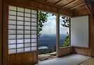 Japan House on Hill by jswolfphoto