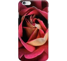 pink rose water color iPhone Case/Skin