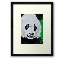 Happy Panda Framed Print
