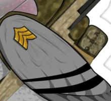 Warbird - literal take. Sticker