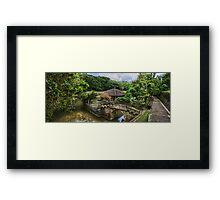 Japanese Pond Framed Print
