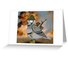 Warbird - literal take. Greeting Card