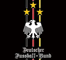 Germany (Deutscher Fussball-Bund) Black IPhone Case by Havok15
