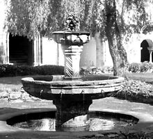 Fountain, Kloster Eberbach, Germany by Katy Marriott