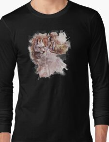 Mononoke and the Wolf Digital Painting Long Sleeve T-Shirt
