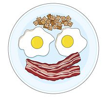 Bacon and Eggs by Maria Bell