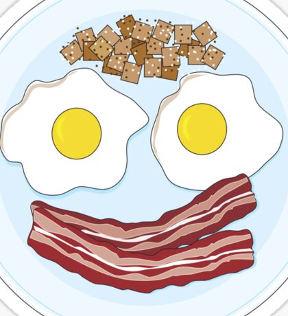 Bacon and Eggs Sticker