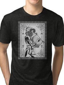 Legend of Zelda Shiek Princess Geek Line Artly  Tri-blend T-Shirt