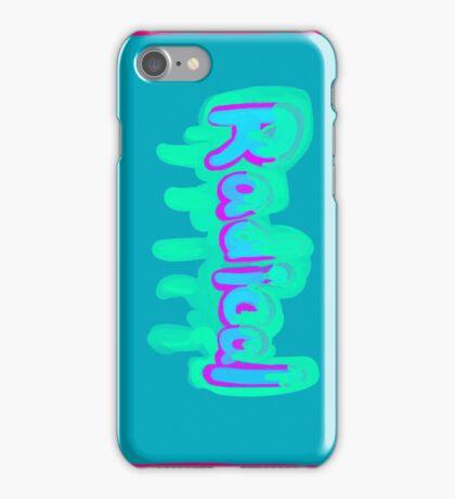 Radical man iPhone Case/Skin