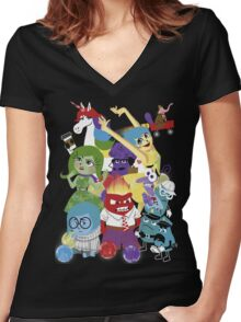 More than a feeling Women's Fitted V-Neck T-Shirt