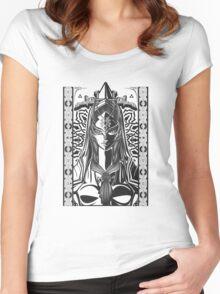 Legend of Zelda Midna Twilight Princess Geek Line Artly  Women's Fitted Scoop T-Shirt
