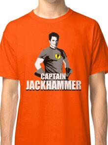 CAPTAIN JACKHAMMER Classic T-Shirt