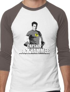 CAPTAIN JACKHAMMER Men's Baseball ¾ T-Shirt